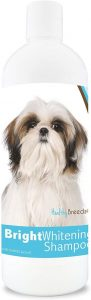 Healthy Breeds Bright Whitening Dog Shampoo For White & Lighter Fur Over 150 Breeds Pina Colada
