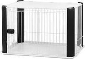 Iris Wire Dog Crate With Mesh Ro