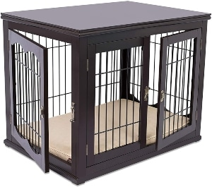 Internet's Best Decorative Dog Kennel With Pet Bed Small Dog