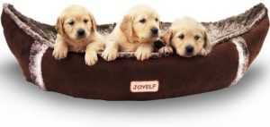 Joyelf Medium Dog Bed Orthopedic Dog Bed With Removable Washable Cover Warm Dog Bed For Small To Me