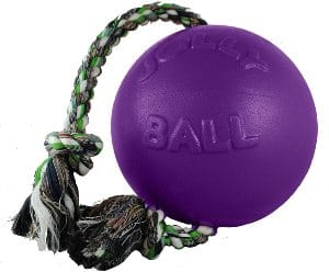 Jolly Pets Romp N Roll Rope And Ball Dog Toy