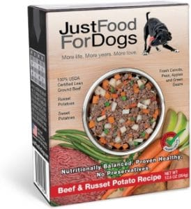 Justfoodfordogs Pantry Fresh Dog Food Human Grade Ingredients Ready To Serve Adult Dog & Puppy Fo