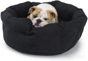K9 Ballistics Round Dog Bed Deep Den, Bagel, Donut, And Deep Dish Style For Cuddler, Machine Washab