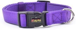 Klcw Nylon Dog Collar Lightly Waterproof Neoprene Paddedrultra Soft Prevent Dog Skin From Wearing O