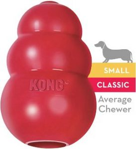 Kong Classic Dog Toy Durable Natural Rubber Fun To Chew, Chase And Fetch (1)