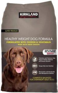 Kirkland Signature Healthy Weight Formula Chicken & Vegetable Dog Food 40 Lb