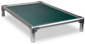 Kuranda Dog Bed Chewproof All Aluminum (silver) Indoor Outdoor Elevated Bite Proof Easy