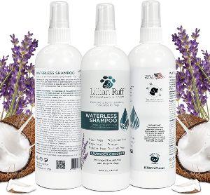 Lillian Ruff Waterless Dog Shampoo No Rinse Quick Dry Shampoo Spray For Dogs And Cats Tear Free