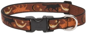 Lupine 1 Inch Shadow Hunter Adjustable Dog Collar For Medium And Large Dogs