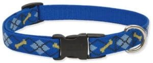 Lupine 3 4 Inch Dapper Dog Adjustable Dog Collar For Small To Large Dogs