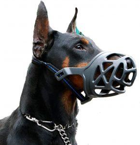 Mayerzon Basket Rubber Dog Muzzle