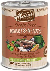 Merrick Classic Brauts N Tots Wet Dog Food
