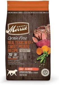 Merrick Grain Free Dry Dog Food Variety Flavors