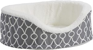 Midwest Homes For Pets Orthoperdic Egg Crate Nesting Pet Bed W Teflon Fabric Protector