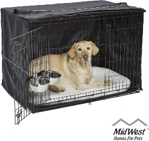 Midwest Icrate Starter Kit The Perfect Kit For Your New Dog Includes A Dog Crate, Dog Crate Cover,