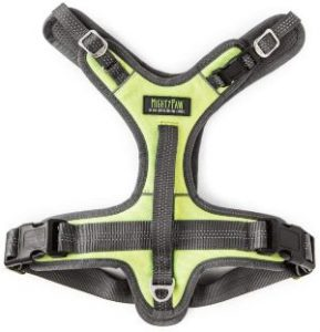 Mighty Paw Dog Sport Harness No Pull Harnesses With Two Leash Attachments, Comfortable Neoprene Pa