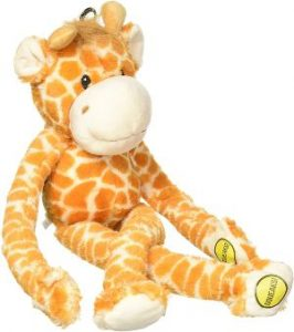 Multipet Swingin 22 Inch Large Plush Dog Toy With Extra Long Arms And Legs With Squeakers
