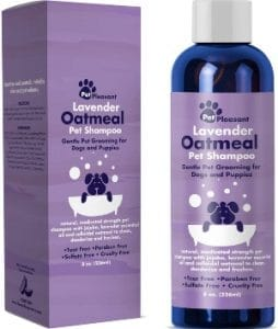 Natural Dog Shampoo With Colloidal Oatmeal