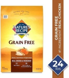 Nature's Recipe Grain Free Dry Dog