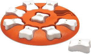 Nina Ottosson Dog Smart Beginner Dog Puzzle Toy – Engaging And Interactive Treat Dispensing Game For