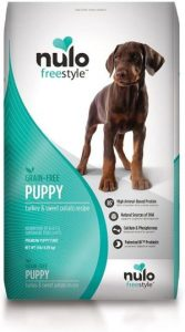 Nulo Puppy Food Grain Free Dry Food With Bc30 Probiotic And Dha, Turkey & Sweet Potato Or Salmon & P