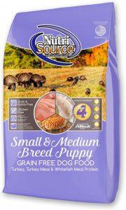 Nutrisource Grain Free ( Turkey ) Small Medium Puppy 5lb