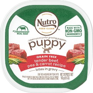 Nutro Cuts In Gravy Grain Free Wet Dog Food Adult & Puppy, 3.5 Oz Trays