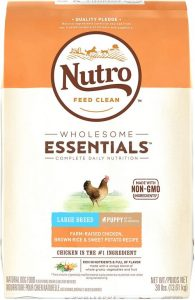 Nutro Wholesome Essentials Farm Raised Chicken, Sweet Potato Recipe Dry Large Breed Puppy Food