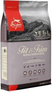 Orijen Fit & Trim High Protein, Grain Free, Premium Quality Meat, Adult Dry Dog Food
