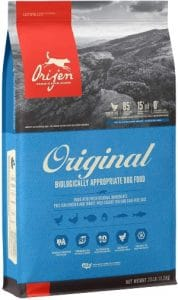 Orijen High Protein, Grain Free, Premium Quality Meat,