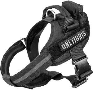 Onetigris Mad Hound Rugged K9 Vest Harness For Medium & Large Dog