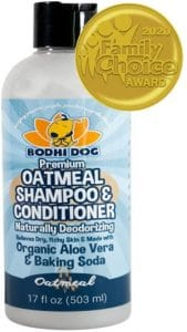 Organic All Natural Oatmeal Dog Shampoo And Conditioner Hypoallergenic Conditioning Deodorizing Fo