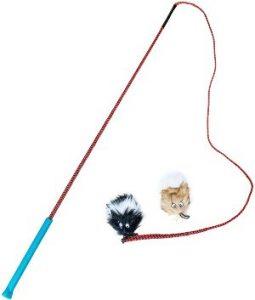 Outward Hound Tail Teaser Dog Flirt Pole Toy, Play Wand (1)