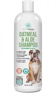 Pet Care Sciences Oatmeal Dog Shampoo And Conditioner For Sensitive Skin, With Aloe To Soothe And Re