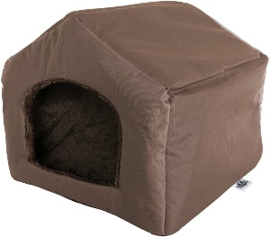 Petmaker Cozy Cottage House Shaped Pet Bed Collection