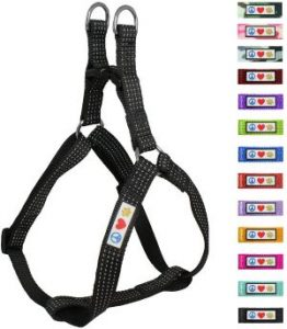 Pawtitas Pet Reflective Step In Dog Harness Reflective Vest Harness Comfort Control Training Walking