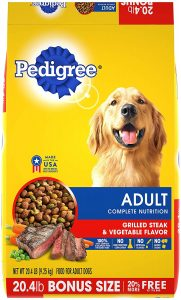 Pedigree Adult Dry Dog Food Grilled Steak & Vegetable Flavor