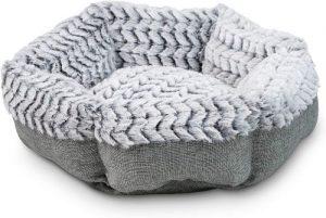 Pet Craft Supply Co. Soho Round Machine Washable Memory Foam Comfortable Ultra Soft All Season Self