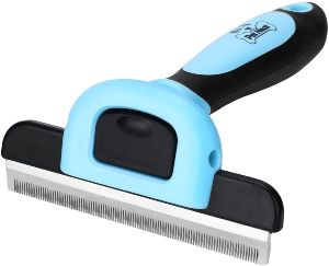 Pet Grooming Brush Effectively Reduces Shedding By Up To 95% Professional Deshedding Tool For Dogs A