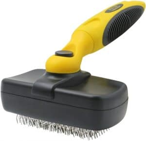 Pet Republique Dog Grooming Slicker Brush Series For Dogs, Cats, Rabbits, Any Long Haired Breed Pe