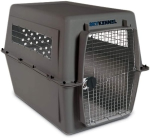 Petmate 00700 Sky Kennel For Pets From 90 To 120 Pound, Light Gray
