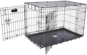 Petmate Provalu Double Door Wire Dog