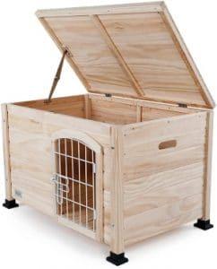 Petsfit 31 Lx20 Wx20 H Indoor Wooden Pet House With Wire Door