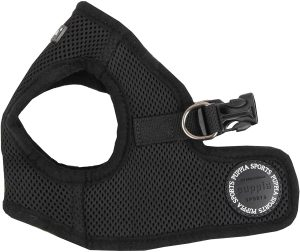 Puppia Soft Vest Dog Harness Black Medium
