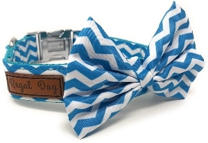 Regal Dog Products Cool Bowtie Collar Custom Fit For Xs, Small, Medium, Large Dog, Cat, Puppy Fu
