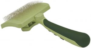 Safari Self Cleaning Slicker Brush For Dogs