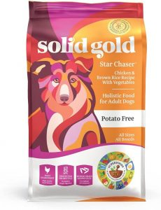 Solid Gold Star Chaser Chicken, Brown Rice With Vegetables Natural Whole Grains Holistic