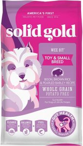 Solid Gold Wee Bit With Real Bison, Brown Rice & Pearled Barley Potato Free Fiber Rich With Pr