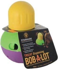 Starmark Treat Dispensing Bob A Lot Dog Toy