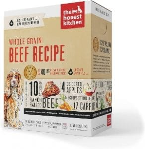 The Honest Kitchen Human Grade Dehydrated Organic Whole Grain Dog Food
